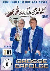 Cover Amigos - Zum Jubiläum nur das Beste - grosse Erfolge [DVD]